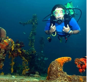 Advanced PADI Open Water kurs i Bocas del Toro, Panama