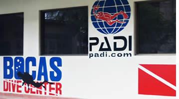 Bocas Dive Center i Bocas del Toro, Panama