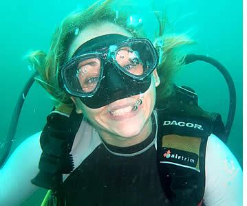 Discover Scuba Diving i Bocas del Toro, Panama